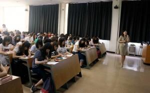 栄養学生もできること×栄養学生ができること/鹿島日布美さん特別授業
