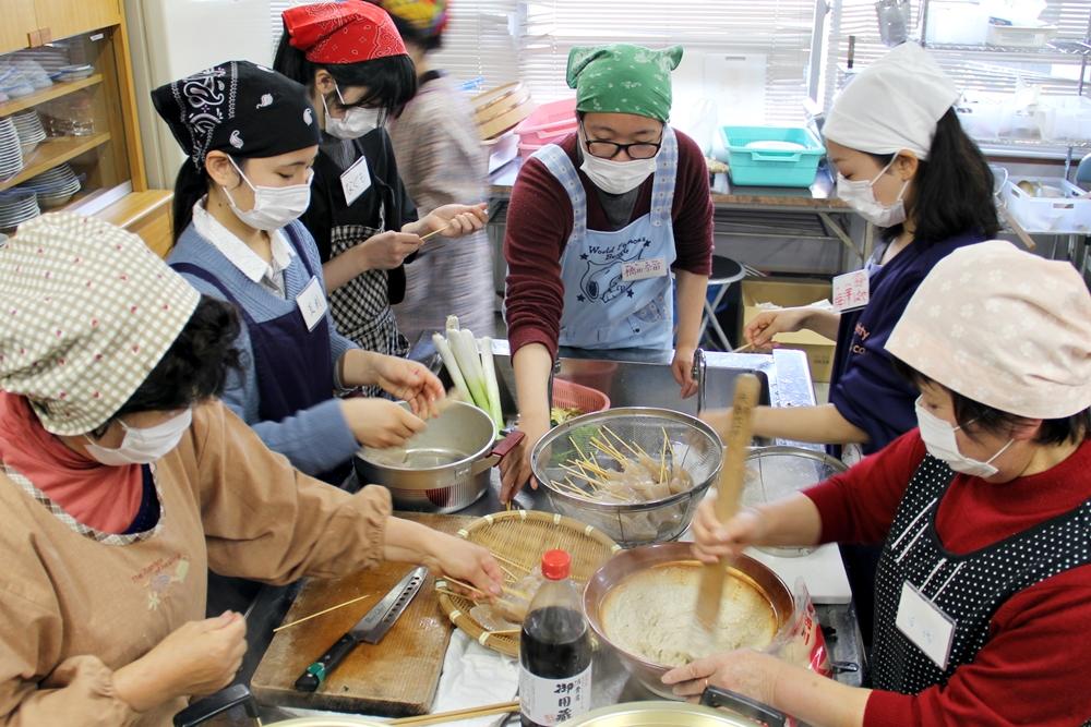 新座市と神川町の女性農業者が交流会/「ゾウキリンくらぶ」の学生も参加