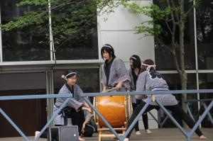J和太鼓部がシーズウィッシュ春まつりに参加/志木市内のマンション