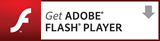 Adobe社ウェブサイトから最新のFlash Player(無料)をダウンロードする